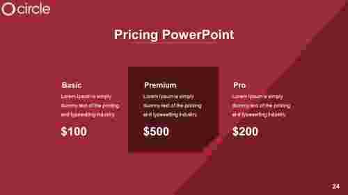 pricingpowerpointtemplateformat