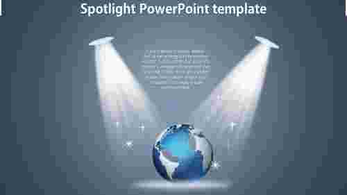 BestSpotlightPowerPointtemplate