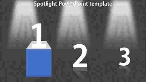SpotlightPowerPointtemplatePPT