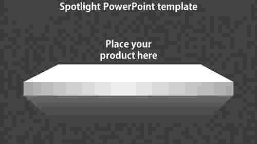 SpotlightPowerPointtemplate-rectangleshape