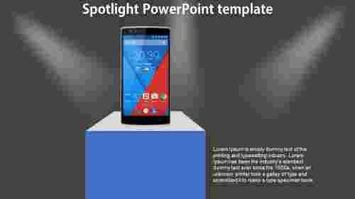 Spotlight%20PowerPoint%20template%20-%20mobile%20model