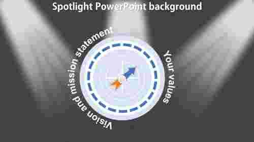 BestSpotlightPowerPointbackground