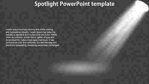 SpotlightPowerPointtemplatepresentation