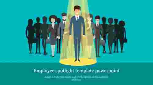 Employeespotlighttemplatepowerpoint