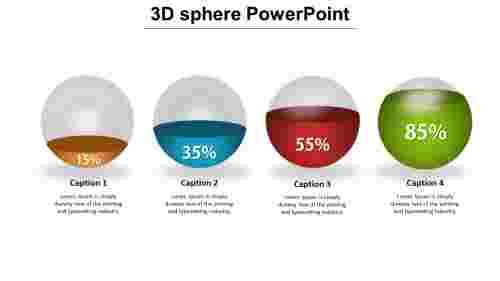 3dspherepowerpointPPT