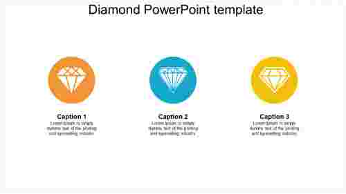Diamond PowePoint template