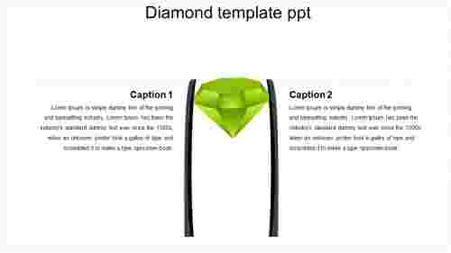 diamond template ppt
