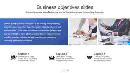 Best business objectives slides