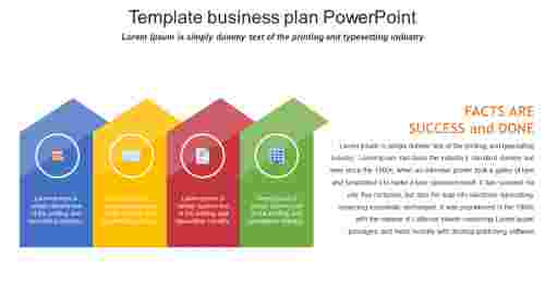 Strategy template business plan powerpoint
