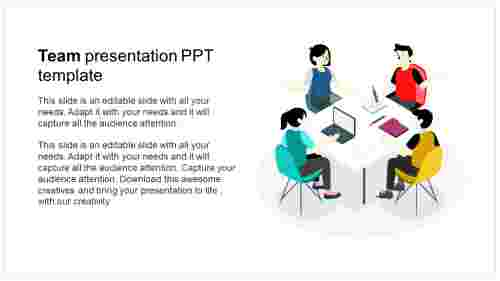 Growth of team presentation ppt template