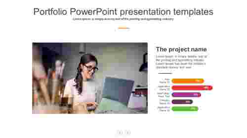 portfolio powerpoint presentation templates slide