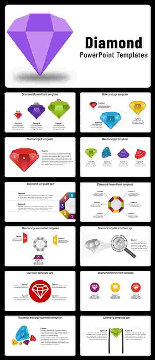 Diamond PowerPoint template