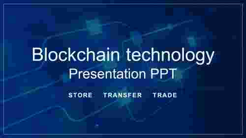 blockchain technology presentation ppt
