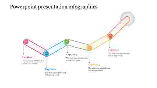 Connected powerpoint Presentation Infographics Template