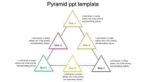 Free pyramid PPT template PowerPoint