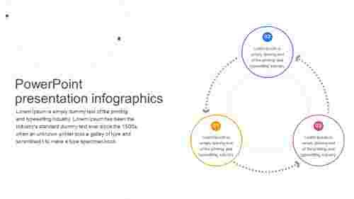 Free powerpoint presentation infographics model