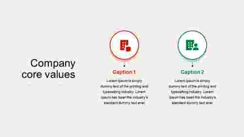 companycorevaluespresentationPowerPoint