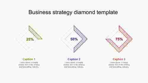 businessstrategydiamondtemplatepresentation