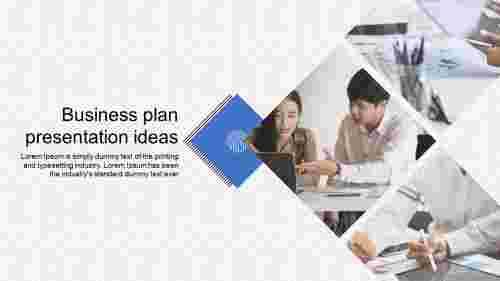 business plan presentation ideas - Diamond model