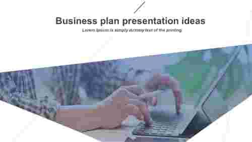 business plan presentation ideas
