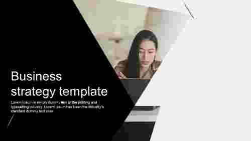 businessstrategytemplatePPTslide