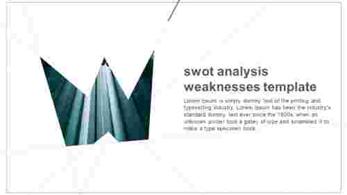 BusinessSWOTanalysisweaknessestemplate