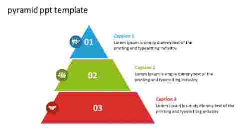 pyramid PPT template model