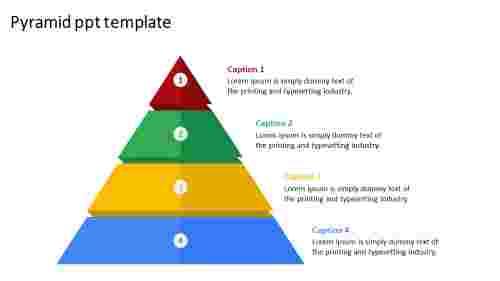 pyramid PPT template presentation