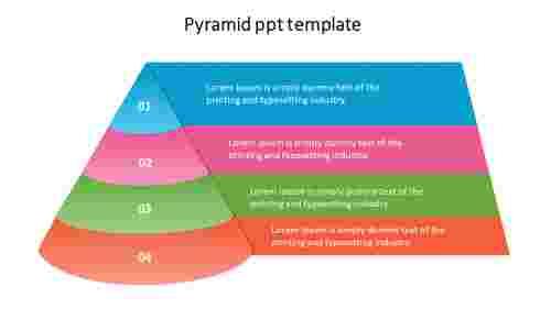 ThebestpyramidPPTtemplate
