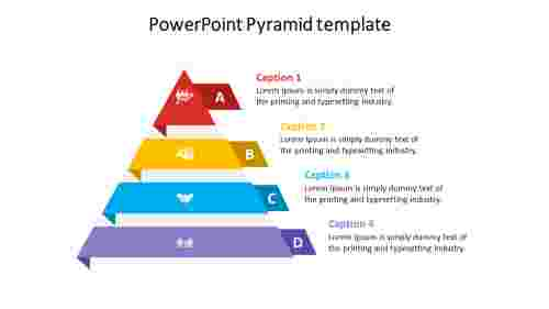 powerpoint pyramid template design