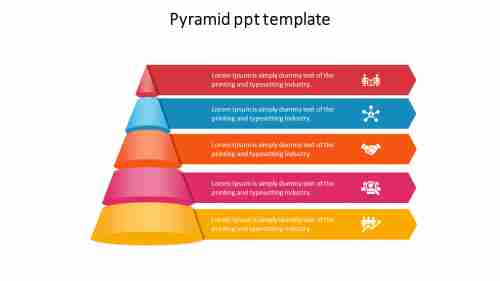 pyramidPPTtemplate-conemodel