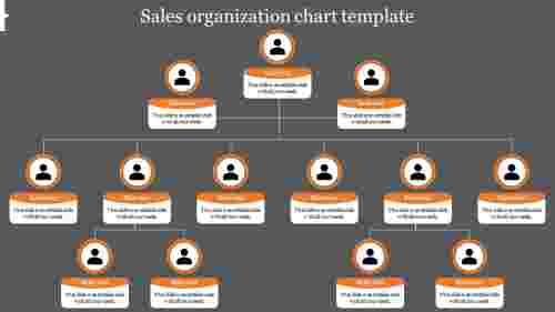 sales organization chart template for companies