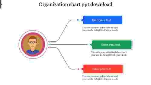 organization chart template ppt Infographics design
