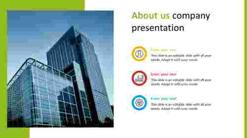 Effective about us company presentation