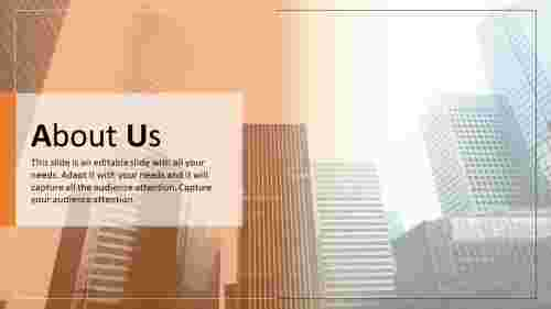 about us powerpoint slide template