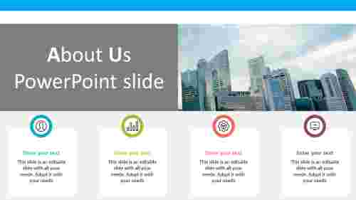 about us powerpoint slide for business