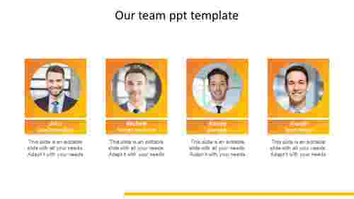 Uses of our team presentation template