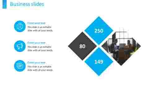business slides diamond model