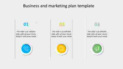 business and marketing plan template design