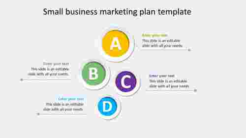 small business marketing plan template presentation