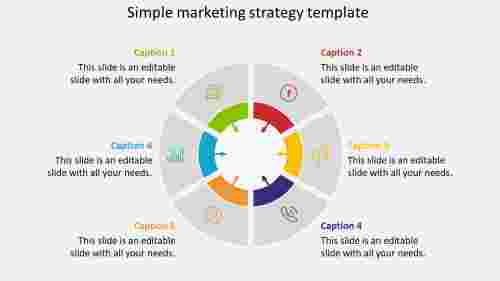 simple marketing strategy template plan