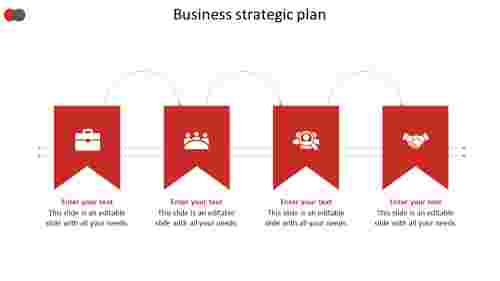 business strategic plan arrow model