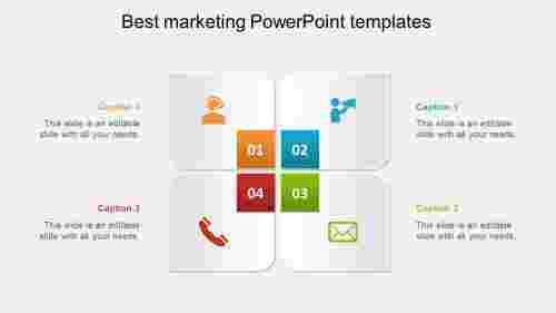 best marketing powerpoint templates model