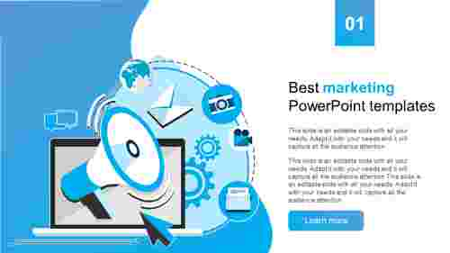 best marketing powerpoint templates model for clients