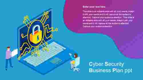 cybersecuritybusinessplanpptmodel