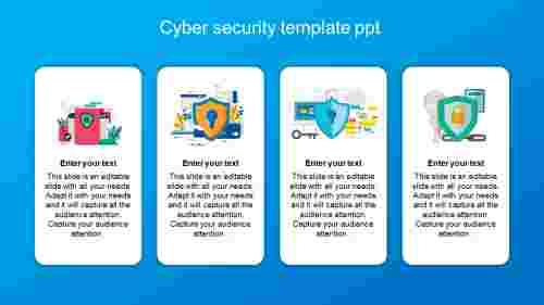 cybersecuritytemplatepptverticalmodel