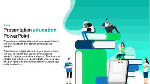 presentation education powerpoint template