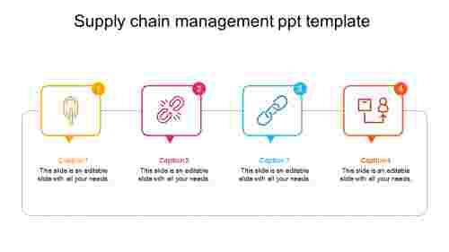 supplychainmanagementppttemplateslide