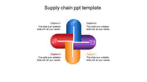 Four%20noded%20supply%20chain%20ppt%20template%20