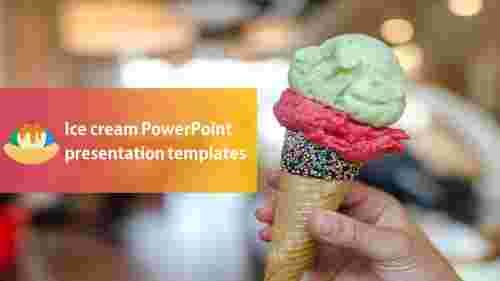 ice cream powerpoint presentation templates design for customers